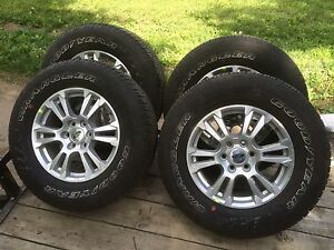 New 2016 F150 Lariat Rims and Tires