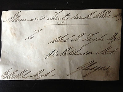 WILLIAM BULKELEY HUGHES - M.P. & ANGLESEY RAILWAY COMMITTEE - SIGNED ENVELOPE