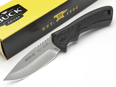 Buck Knives BuckLite Max II Small Fixed Blade Hunting Knife New Model USA 684BKS