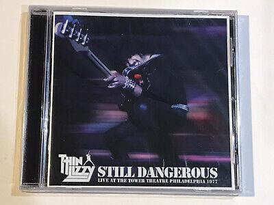 THIN LIZZY STILL DANGEROUS LIVE AT THE TOWER THEATRE PHILADELPHIA CD ALBUM...