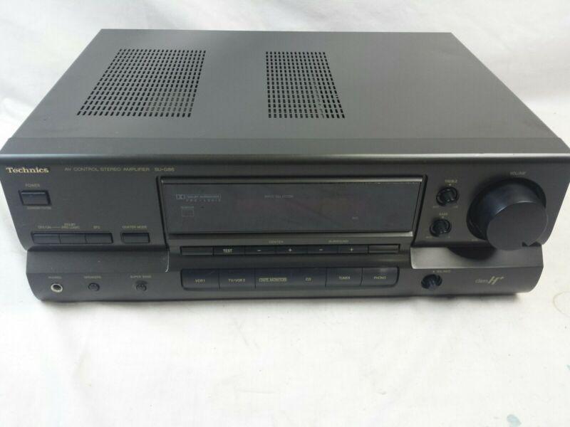 Technics SU-G86 Stereo Amplifier,Tested.JM-0746
