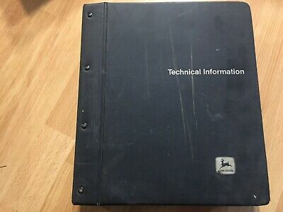 John Deere 4555 4755 4955 4560 4760 4960 Tractor Technical Op Test Manual Tm1461
