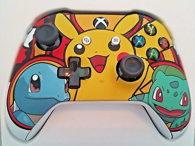 Xbox One S Wireless Microsoft Controller POKEMON Maker NEW with Bluetooth