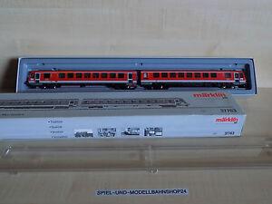 Märklin 37763, Diesel-Triebwagenzug BR 628, MFX Digital, OVP, Vitrinenm., Neuw.