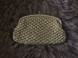 Vintage high end clutch - made in Italy