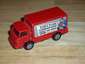 Vintage-Corgi-Juniors-034-Daily-Planet-Superman-Saves-The-World-034-Delivery-Truck