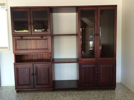 wall unit | Cabinets | Gumtree Australia Brisbane North East ...