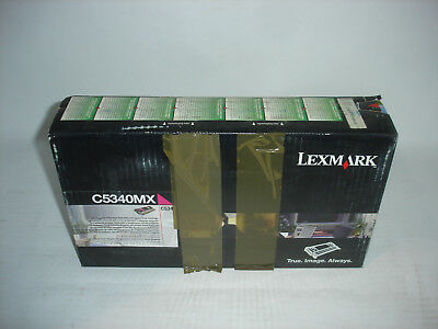 - Lexmark C534 Magenta Extra High Yield Toner Cartridge C5340MX