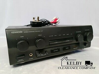 Kenwood A-47 Stereo Integrated Amplifier- Vintage Hi Fi Seperate