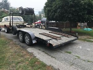 18ft race car trailer
