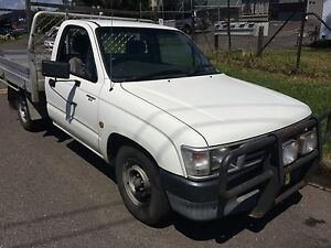 2002 Toyota Hilux Ute Adamstown Newcastle Area Preview