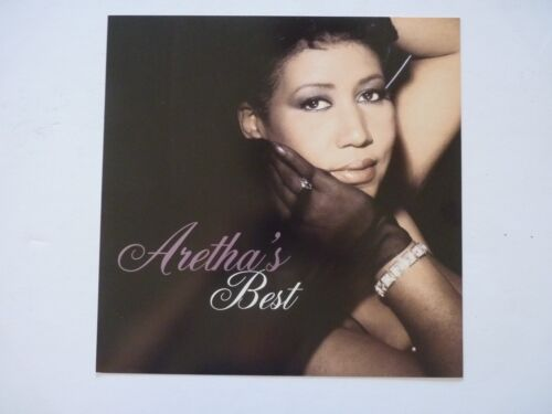 Aretha Franklin Best LP Record Photo Flat 12x12 Poster