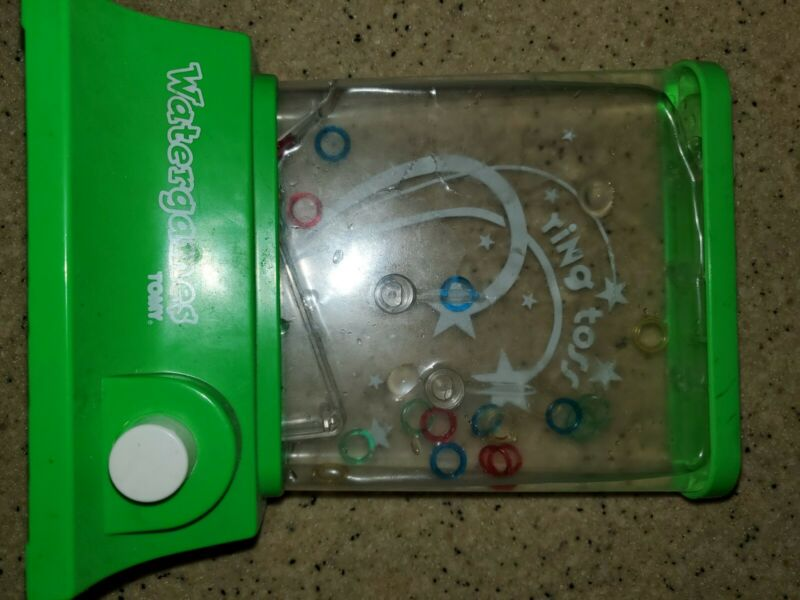 TOMY Wonderful Waterfuls Ring Toss Game Vintage Original Great Condition