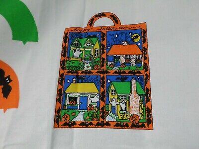 Cute Halloween Bags To Make ( TRICK OR TREAT BAG  Fabric Panel HALLOWEEN Vintage TO MAKE  A  CUTE BAG )