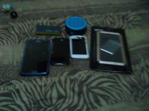 For sale note3 and portable changer and portable speaker Kyneton Macedon Ranges Preview