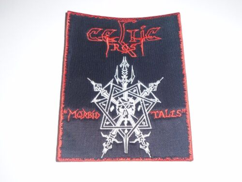 CELTIC FROST MORBID TALES EMBROIDERED PATCH