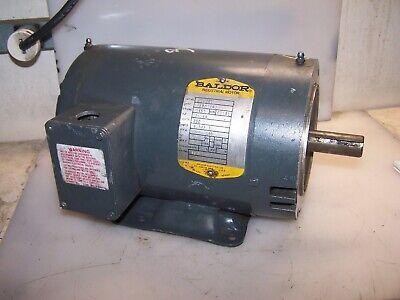 Baldor 1 Hp Ac Electric Motor 145t Frame 230 Vac 3 Phase 1725 Rpm M1020t