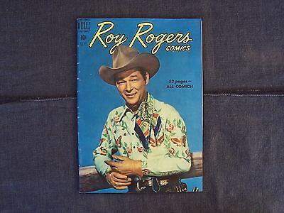 vintage Roy Rogers Comics No. 33, September 1950 Dell comic book