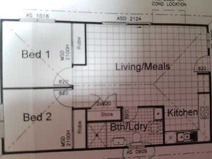 Brand new 2 bedroom granny flat for rent