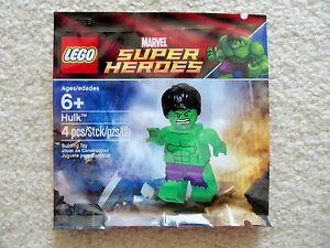 LEGO Marvel Super Heroes - super Rare Promo Minifig - Hulk 5000022 - New