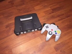 N64 system with all wires-1 controller. Extra $20 each