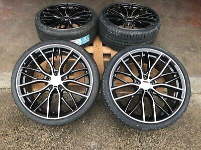 "20"" PERFORMANCE ALLOY WHEELS + TYRES 3 4 SERIES 405M E90 BMW F30 F32 M SPORT new"