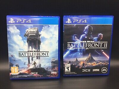 Star Wars Battlefront Bundle 1 & 2 PlayStation 4 PS4 Pre-Owned