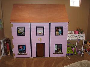 american girl dollhouse 18 doll sized plans for dollhouse