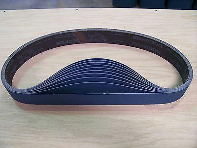 Premium Zirconia X-weight Sanding Belts 1 X 42 10 - Pack 120-grit