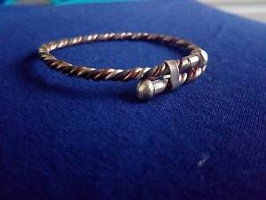 Baby/Toddler health brass, copper and silver bracelet Buderim Maroochydore Area Preview