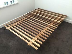 Japanese Futon style double bed base frame *FREE DELIVERY* .