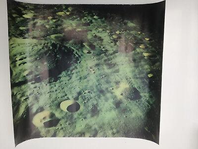 Apollo 11 Nasa Photo de la lune à partir de la capsule Apollo