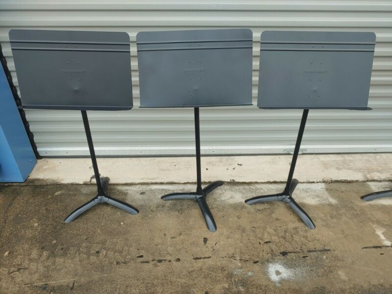 SINGLE REFURBISHED MANHASSET M-48 MUSIC STAND - $29.95 - 60 UNITS AVAILABLE