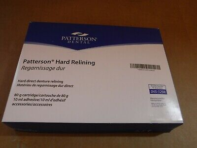 New Dental Patterson Hard Relining 11 Set Model 045-1294