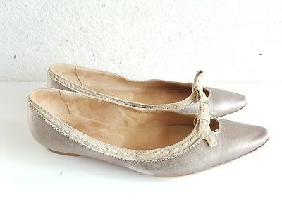 Manufacture d'essai Damen Komfort Slipper Halbschuhe BallerinaGr.39 UK 6 ()