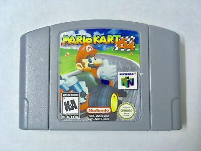 Usado, Mario Kart 64 (Nintendo 64, 1997) N64 Game Console Card US version comprar usado  Enviando para Brazil
