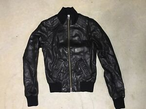 Mackage x Aritzia Leather Jacket