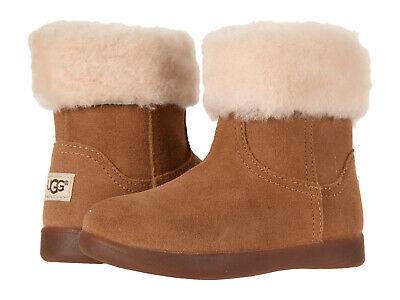 Toddler UGG Australia Jorie II 1097034T Chestnut Suede 100% Authentic Brand (Jorie Brown)