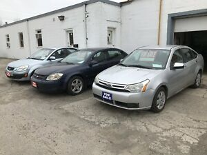 2009  Ford Focus &2009 Chevy cobalt