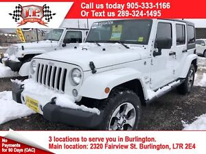 2016 Jeep WRANGLER UNLIMITED Sahara, Automatic, Navigation, 4x4,