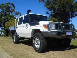 2013 TOYOTA LANDCRUISER WORKMATE (4X4) DOUBLE CAB Wangara Wanneroo Area Preview