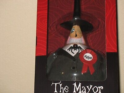 "Diamond Select Nightmare Before Christmas "" THE MAYOR "" Deluxe Collection Doll"