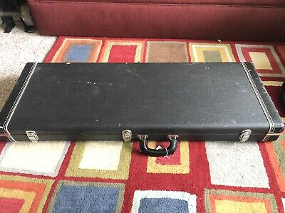 Black Tolex Hardshell Electric Guitar Case - Fits Strat Tele Style guitars!