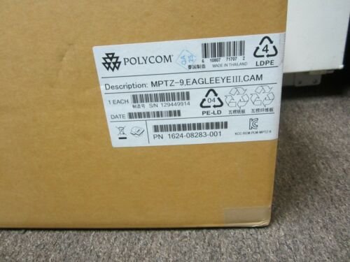 New Polycom EagleEye III Video Conferencing Camera MPTZ-9 1624--08283-001