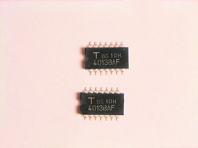 Tc4013baf Original Toshiba 14p Smd Ic 2 Pcs