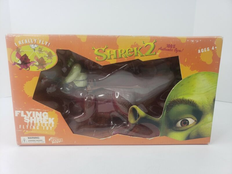 SHREK 2 Tethered Flying Toy By FUSION AGES 4+ NIB