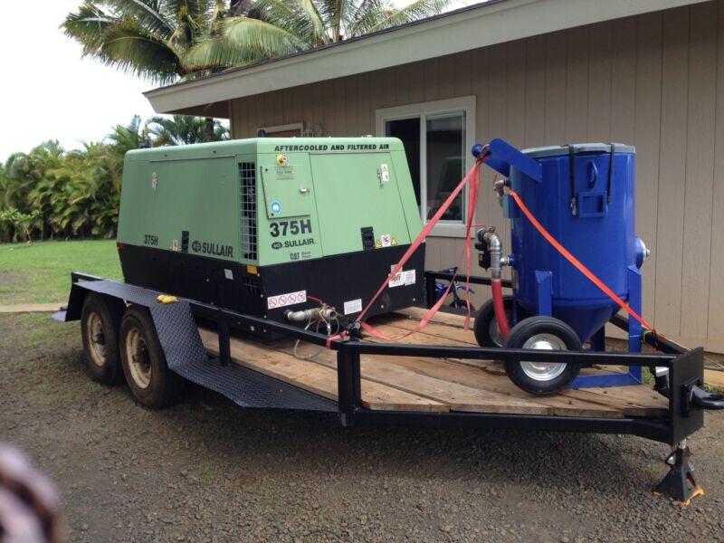 mobile sandblasting system