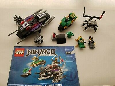 Lego Ninjago 70722 OverBorg Attack 100% Complete with manual and minifigures
