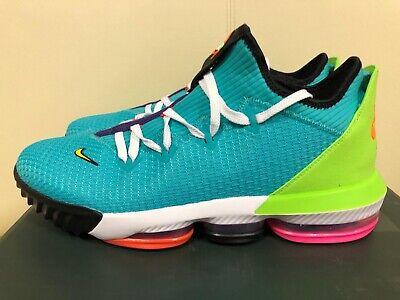 Nike LeBron 16 Low Hyper Jade CI2668 301 Release Date SBD
