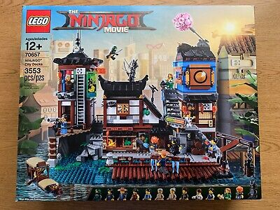 LEGO Ninjago Movie 70657 Ninjago City Docks *Brand New & Sealed*